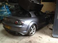 Mazda rx8 doors