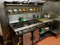 Commercial cooker and tandoori oven for sale