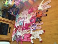 $60 for 182 pieces 6-12month baby girl