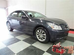 2009 Infiniti G37X  AWD/LEATHER/SUNROOF
