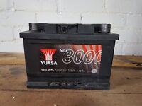 Yuasa 12v Car Battery Never Used £60