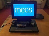 Meos portable DVD/tv player