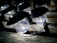 Small solar powered lanterns