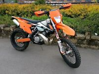 Ktm 300 exc 2017 (0 FORMER KEEPERS) (LOW MILEAGE)