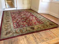 Beautiful large 100% wool rug