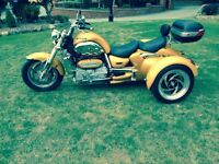 2008 GRINNALL R3T (TRICYCLE) TRIUMPH ROCKET 3 YELLOW