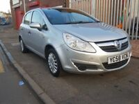 Vauxhall Corsa 1.2 i 16v Life 5dr Lady owned New Timing chain changed 2008