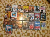 Film music and english comedy dvds