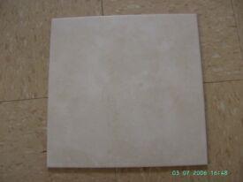 ceramic tiles, floor, wall, beige, 33 x 33 cm., + border tiles