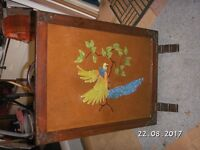 Old wooden fire guard / screen