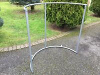 Half Circle Freestanding Retail Clothes Rail - Great Condition -Removed from a Dorothy Perkins Store