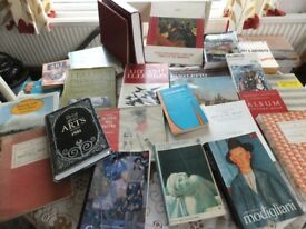 37 Art Books (for Student/Degree/Enthusiast) See photos . Only £10
