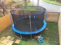 14ft Trampoline 1 year old