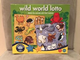Orchard toys - wild world lotto game