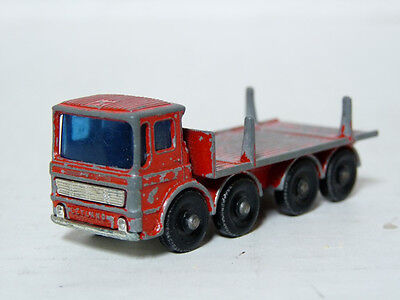 Matchbox Lesney 10 1/64 Leyland Ergomatic Cab Pipe Lorry Truck Diecast Model Car
