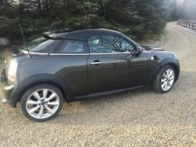 Mini Coupe 1.6 with SAT NAV