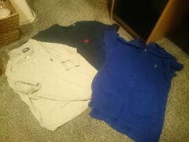Ralph lauren and fred perry tops