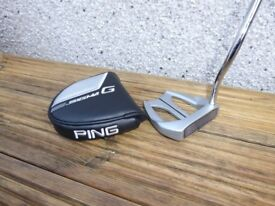 Ping Sigma G Doon Straight Arc Counterbalanced Putter 38 ins long - Excellent Condition + Headcover