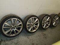 "VXR alloy wheels 19"" ronal (astra vectra corsa zafira)"