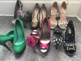 Various Ladies Shoes, Size 5, Carvela, Dune, Office