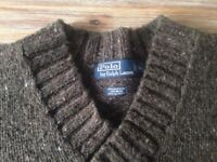 RALPH LAUREN GENUINE LARGE JUMPER