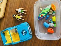 Playmobil Beach Car and Surfer