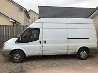 Ford transit T350 long wheelbase high roof