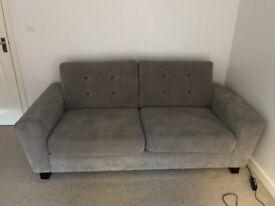 3 & 1 seater fabric sofa