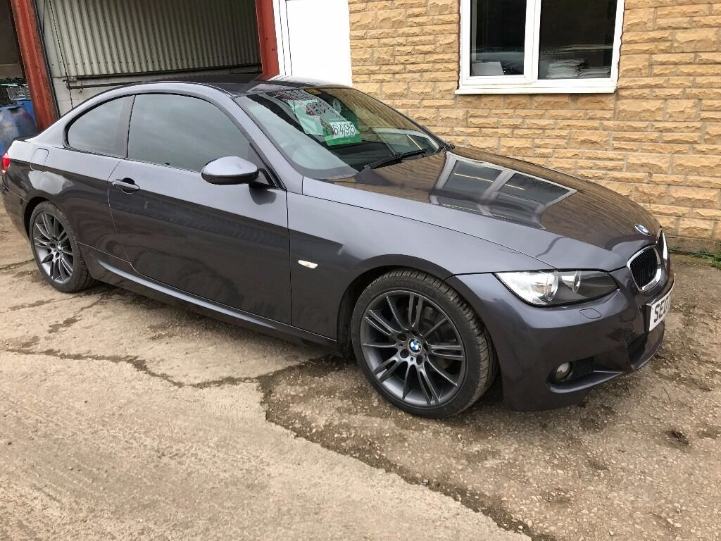 stunning 2007 bmw 320i coupe m sport 92k fsh just changed the timing chain 3 month waranty. Black Bedroom Furniture Sets. Home Design Ideas