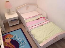 Great Little Trading Company Children's Bed and Bedside Table/Drawer