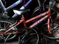 Girls bike age 6 to 9