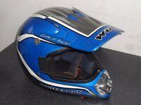 old wolf sport dirtbike motocross helmet bike