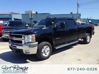 2010 Chevrolet SILVERADO 2500HD LTZ CREW 4X4 LONG BOX