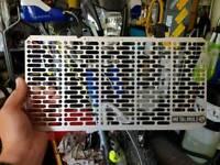 XT660Z tenere Metal Mule aluminium rad guard