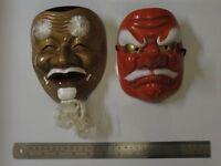 Ceramic Japanese Masks