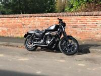 Harley Iron 883 - stage 1