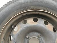 Citroen Saxo spare wheel with NEW tyre 165/65 r14