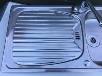 Stainless Steel Kitchen Sink with drainer 95cm x 50.5