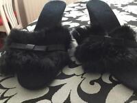 Ladies slippers/mules