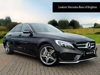 Mercedes-Benz C Class C250 BLUETEC AMG LINE PREMIUM PLUS (black) 2015-03-31