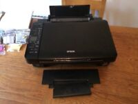 Epson S425W. WiFi. Printer, scanner, copier. Provided with ink cartridges.