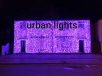Asian wedding lights hire, wedding lighting, Indian wedding lights hire, outside house lights