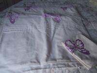 Pretty single duvet cover + pillowcase