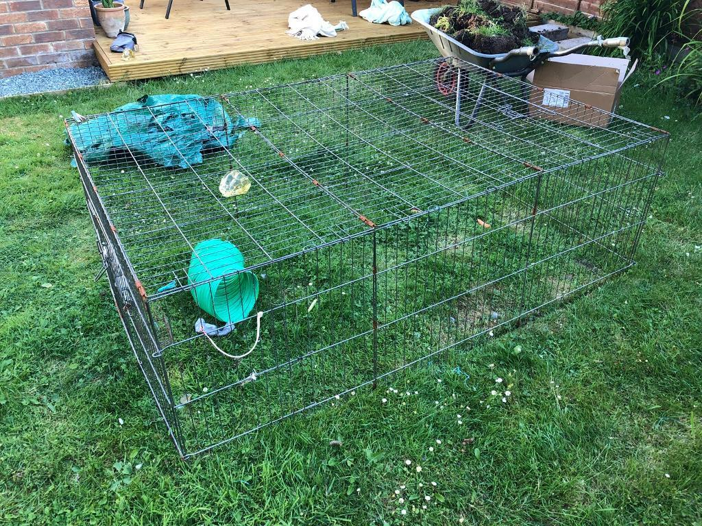 Large Animal run - 60cm x 120cm x 180cm | in Chandlers Ford, Hampshire |  Gumtree