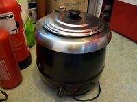 CATERING - 3 X SOUP KETTLES - NEW REDUCED PRICE TO SELL