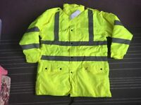 reflective ,high visibility jacket XL