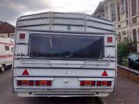 roma 18ft caravan empty