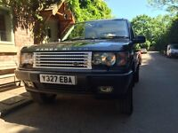 2001 Range Rover 4Ltr HSE LPG, Low miles, Excellence condition