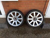 "18"" Imola Alloy Wheels (8 Spoke) X 4 - VAG (Volkswagen Audi Group) Fitment"
