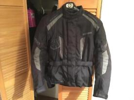 Oxford men's motorcycle jacket size 40 very little use excellent condition lots of features